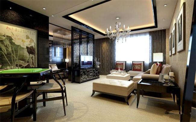 现代酒店装修中的豪华中式酒店套房设计 图文